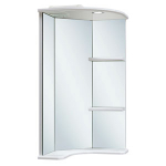 [product_id], Зеркало угловое Руно Браво 40, , 4 550 руб., Браво 40, Runo, Угловая мебель