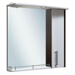 [product_id], Зеркало Руно Гранада 75 (венге-серебристый дуб), , 5 680 руб., Гранада 75, Runo, Зеркала