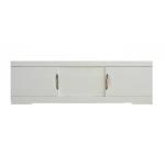 [product_id], Экран для ванны раздвижной Style Line Глен 1400 белый глянец, , 3 405 руб., Глен 1400, Style Line, Ванны