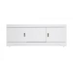 [product_id], Экран для ванны раздвижной Style Line Карла 1400 белый глянец, , 3 405 руб., Карла 1400, Style Line, Экраны под ванну