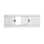 [product_id], Экран для ванны раздвижной Style Line Октава 1400 белый глянец, , 3 195 руб., Октава 1400, Style Line, Ванны