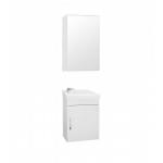 [product_id], Комплект мебели Style Line Эко Стандарт №1 40 подвесной белый, ЛС-00000114/ЛС-00000248, 7 902 руб., Эко Стандарт №1 40 подвесной, Style Line, Комплекты