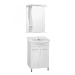 [product_id], Комплект мебели Style Line Эко Волна №12 55 белый, ЛС-00000099, 9 251 руб., Эко Волна №12 55, Style Line, Комплекты