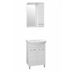 [product_id], Комплект мебели Style Line Ирис 55 белый, ЛС-00000018/ЛС-00000015, 10 605 руб., Ирис 55, Style Line, Комплекты