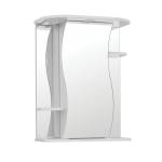 [product_id], Зеркальный шкаф Style Line Эко Волна Лилия 55/С белый, ЛС-00000119, 4 046 руб., Эко Волна Лилия 55/С, Style Line, Зеркала