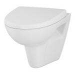[product_id], Унитаз подвесной Cersanit Parva new Clean On S-MZ-PARVA-COn-DL-w (безободковый, микролифт), , 4 250 руб., Cersanit, Cersanit, Подвесные