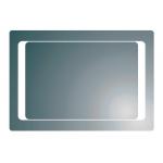 [product_id], Зеркало Vado Reflection MIR-CURVE/DM-LIT 100 см., , 20 490 руб., Vado Reflection MIR-CURVE/DM-LIT, Vado, Мебель для ванной комнаты