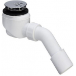 [product_id], Сифон для душевого поддона Viega Domoplex 364755 (хром), 6452, 1 300 руб., Viega Domoplex 364755, Viega, Системы слива для ванной