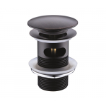 [product_id], Донный клапан Wasser Kraft Push-up A047 (тёмная бронза), , 1 730 руб., Wasser Kraft Push-up A047, Wasser Kraft, Системы слива для раковины