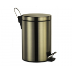 [product_id], Ведро для мусора Wasser Kraft 5L К-645 (светлая бронза), , 4 910 руб., 5L, Wasser Kraft, Ведро для мусора