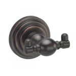 [product_id], Крючок двойной Wasser Kraft Isar K-7323 (темная бронза), , 1 160 руб., Wasser Kraft Isar K-7323, Wasser Kraft, Крючок для ванной