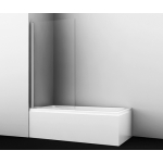 [product_id], Шторка на ванну WasserKRAFT Berkel 48P01-80, 48P01-80, 10 490 руб., 48P01-80, Wasser Kraft, Шторки для ванн