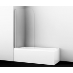[product_id], Шторка на ванну WasserKRAFT Leine 35P01-80, 35P01-80, 12 420 руб., 35P01-80, Wasser Kraft, Шторки для ванн