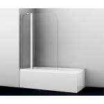 [product_id], Шторка на ванну WasserKRAFT Leine 35P02-110, 35P02-110, 17 280 руб., 35P02-110, Wasser Kraft, Шторки для ванн